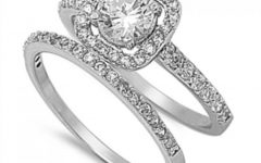 Two Piece Wedding Rings