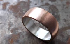 Copper Men's Wedding Bands
