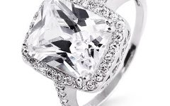 Cz Diamond Wedding Rings