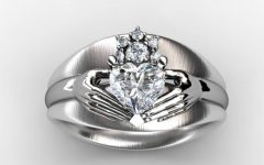 Custom Claddagh Engagement Rings