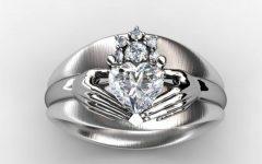 Custom Claddagh Engagement Rings
