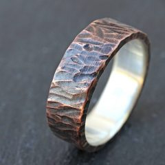 Custom Duck Bands Wedding Rings For Men
