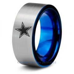 Dallas Cowboys Wedding Bands