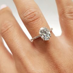 Oval-Shaped Engagement Rings