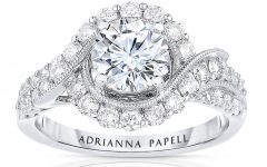 Diamond Frame Vintage-style Engagement Rings