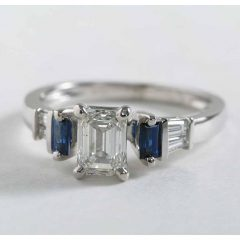 Baguette Cut Diamond Engagement Rings