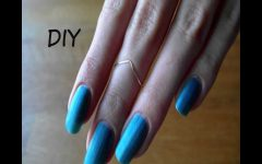 Diy Chevron Knuckle Rings