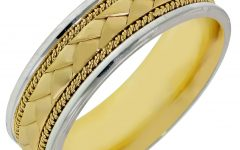 Men's Braided Wedding Bands