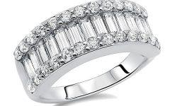 Baguette Anniversary Rings