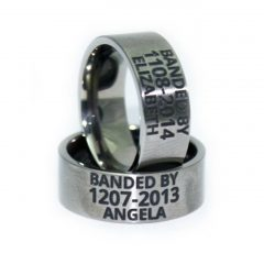Custom Camo Wedding Rings