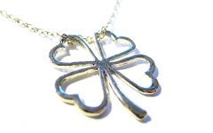 Lucky Four-leaf Clover Locket Element Necklaces