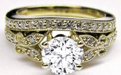 Vintage Yellow Gold Wedding Rings
