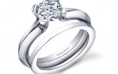 Wedding Band Fits Inside Engagement Rings