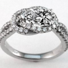 Love Knot Engagement Rings