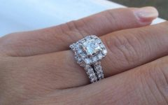 Wedding Band to Go with Princess Cut Engagement Ring