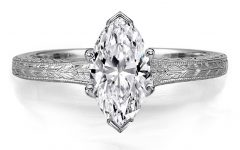 Marquise Diamond Engagement Rings Settings