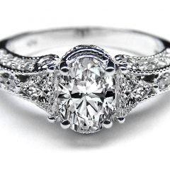 Diamond Vintage-Style Rings