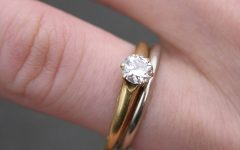 Wedding Band And Engagement Rings