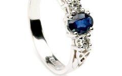 Sapphire Celtic Engagement Rings