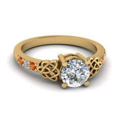 Celtic Engagement Ring Settings