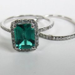 Emrald Engagement Rings