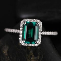 Engagement Rings Emeralds