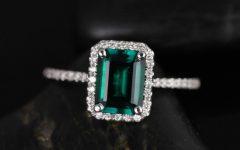 Emeralds Engagement Rings