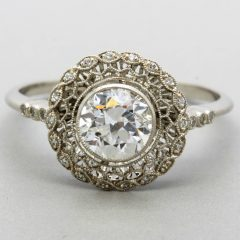 Vintage Irish Engagement Rings