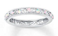 Opal Wedding Bands