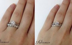 Eternity Band Wedding Rings