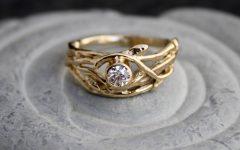 Tree Engagement Rings