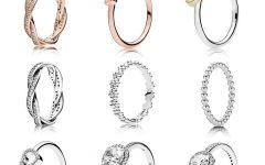 Pavé Puzzle Heart Rings