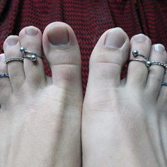 Permanent Toe Rings