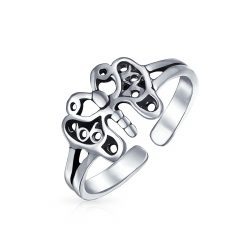 Butterfly Toe Rings