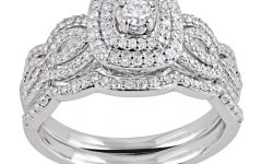 Diamond Double Frame Vintage-style Rings