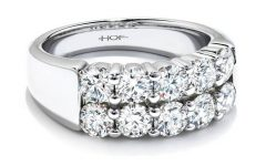 Diamonds Wedding Anniversary Rings