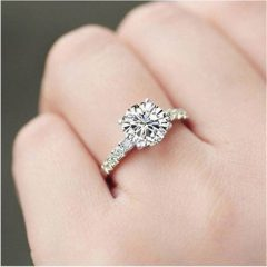 1 Ct Wedding Rings