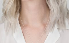 Geometric Lines Necklaces