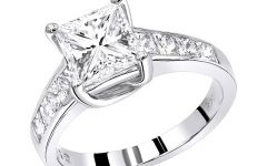 Unique Princess Cut Diamond Engagement Rings