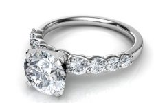Engagement Rings with Side Diamonds