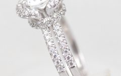 Size 4 White Gold Engagement Rings