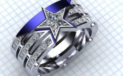Captain America Wedding Bands