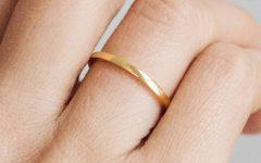 Thin Wedding Rings