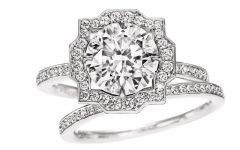 Harry Winston Belle Engagement Rings