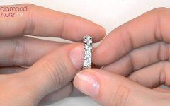 3 Carat Anniversary Rings