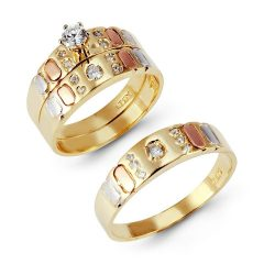 Cheap Yellow Gold Wedding Rings