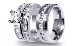Men's And Women's Matching Wedding Bands