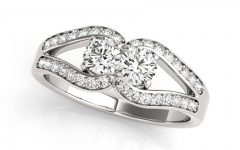 Horseshoe Diamond Engagement Rings