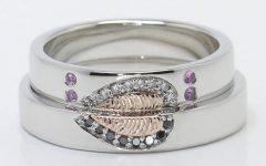 Artsy Wedding Rings