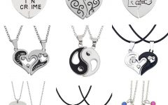 Best Friends Heart & Key Necklaces Pendant Necklaces
